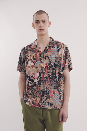 Malick shirt perforated multi