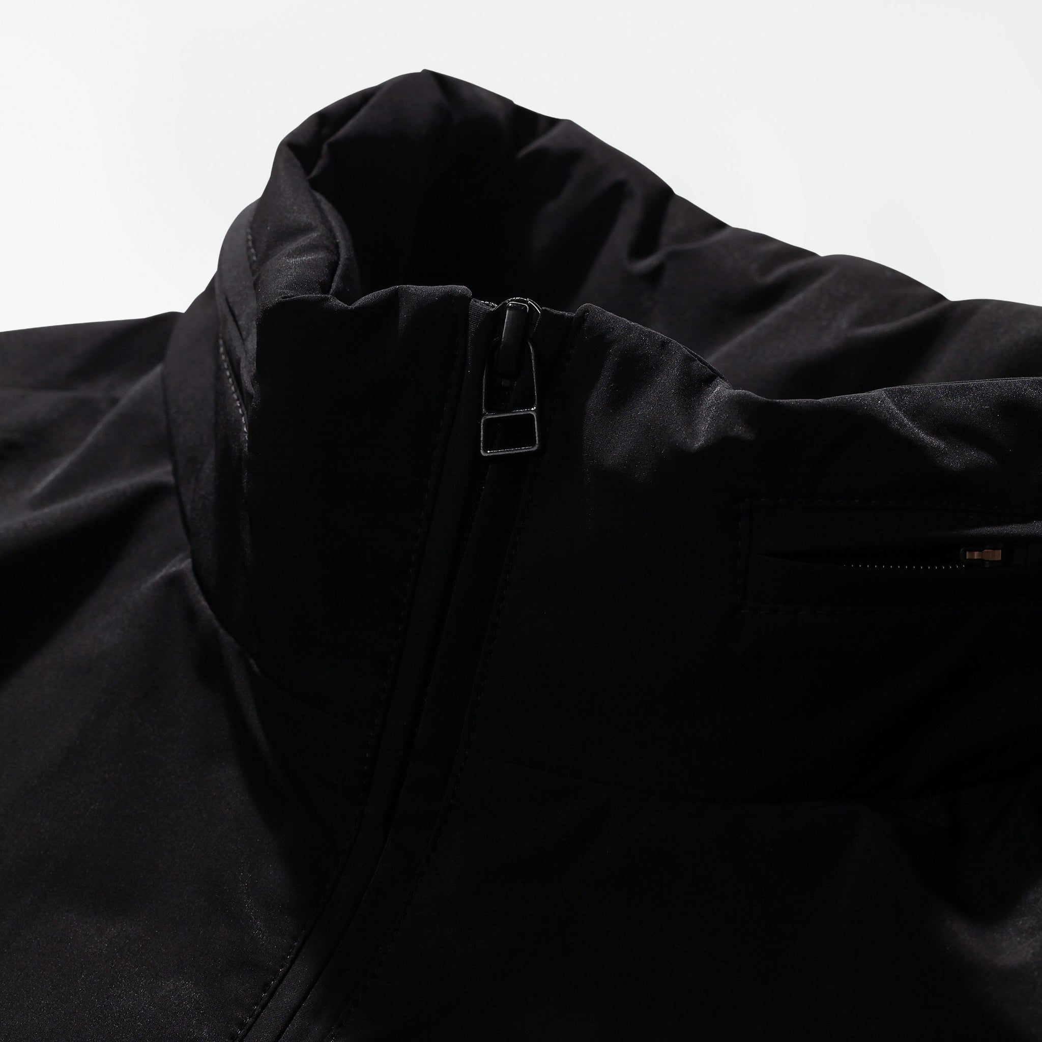 Marstrand packable anorak black