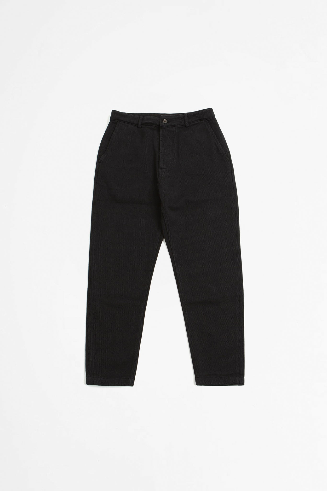 Military chino trio twill black