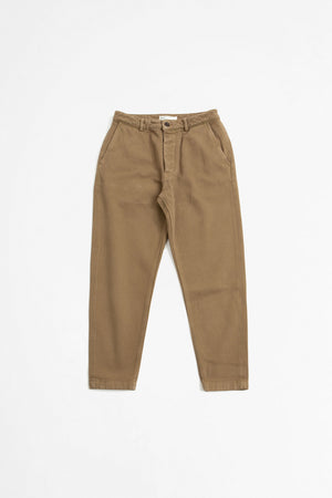 Military chino trio twill taupe