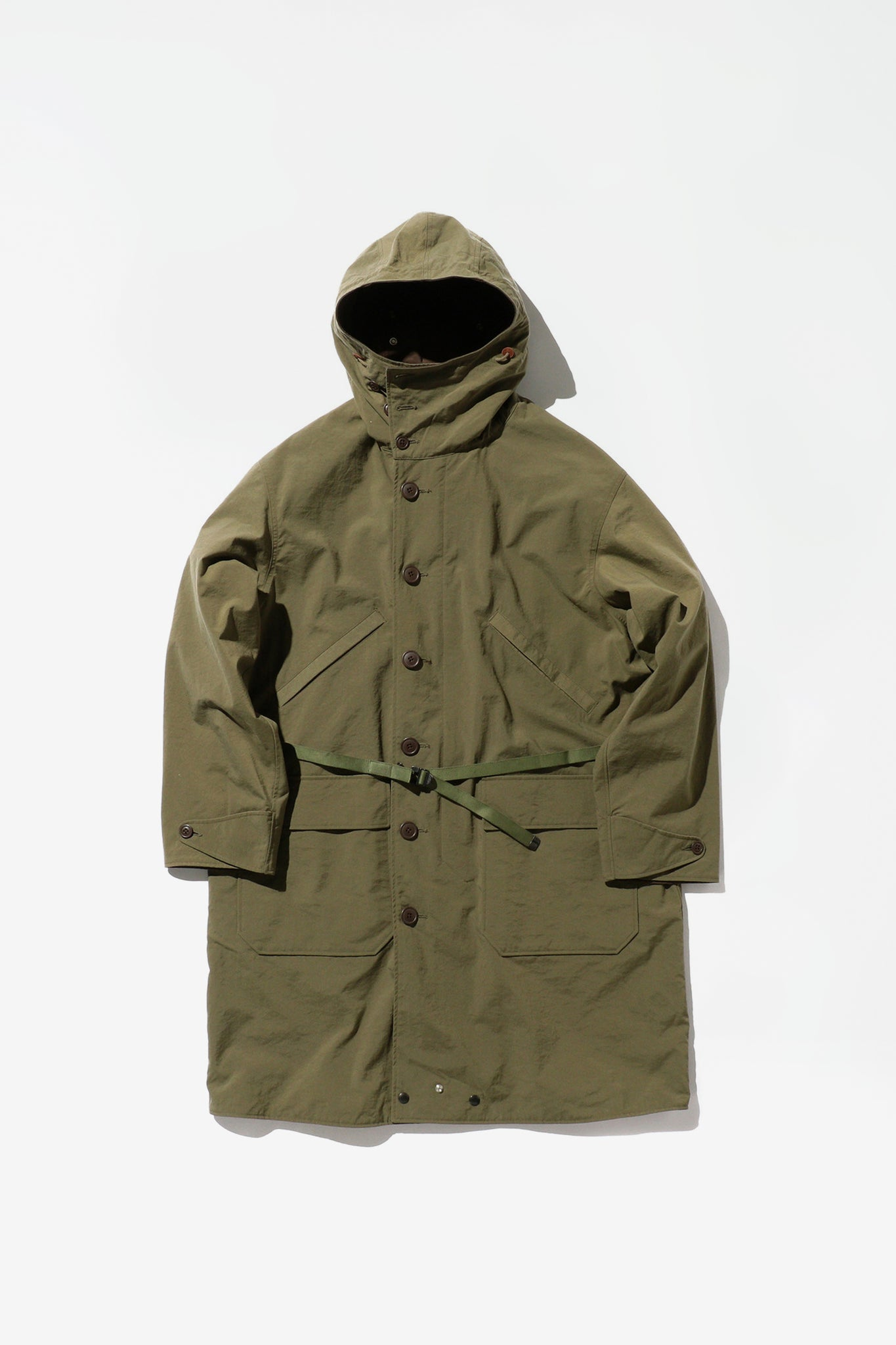 Military reversible parka olive