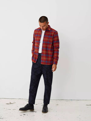 Miracle shirt chinese red check