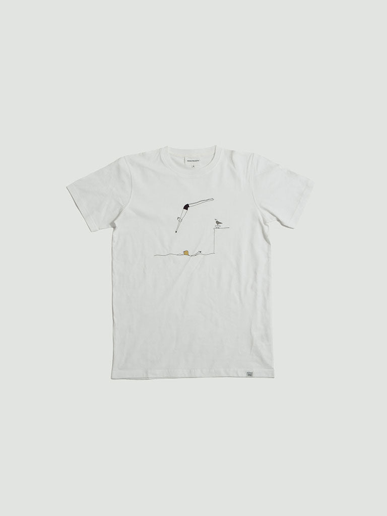 Norse Projects. Daniel Frost Jump white