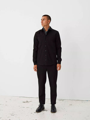 Novel shirt black