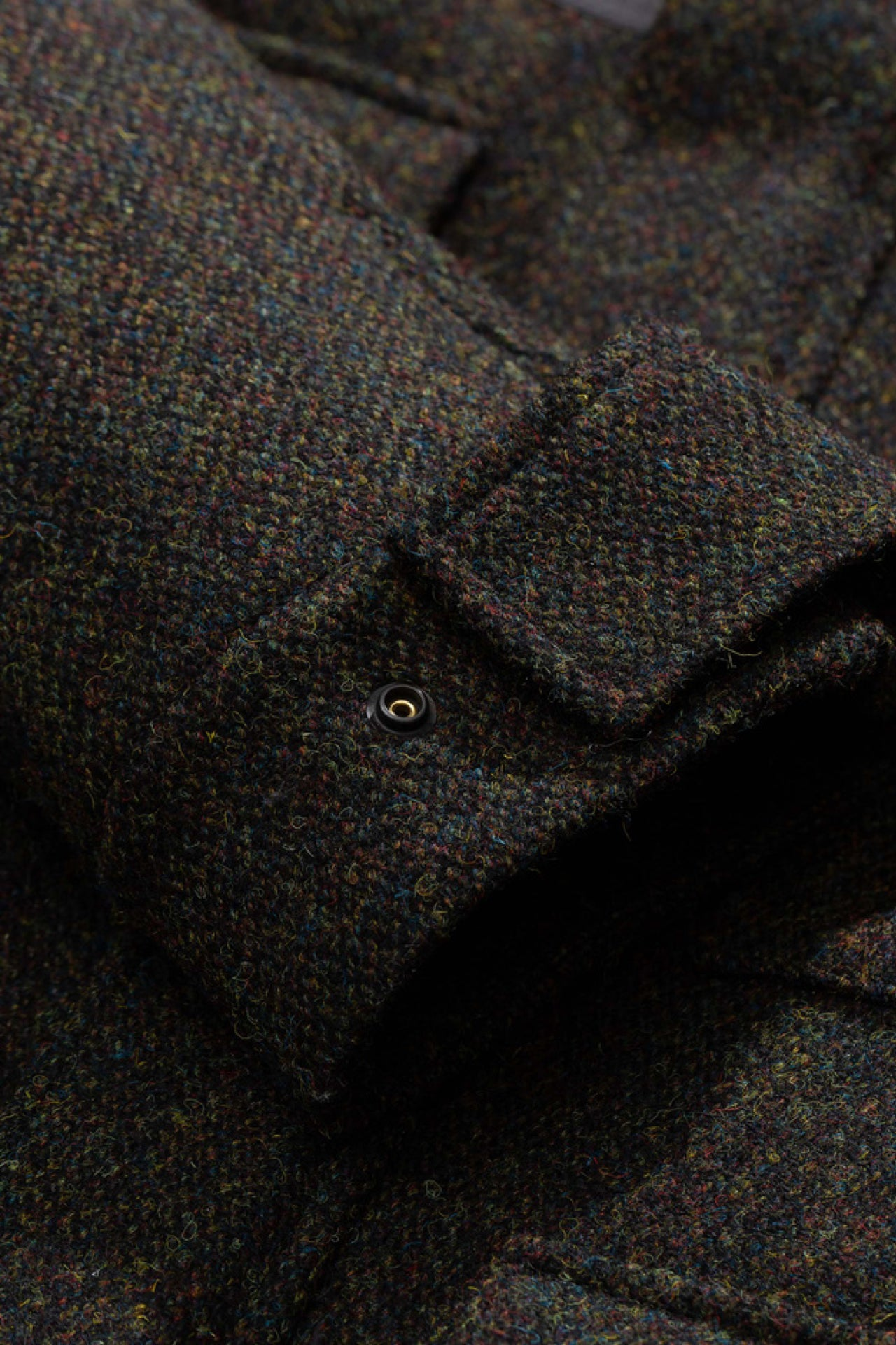 Nunk Harris Tweed black multi
