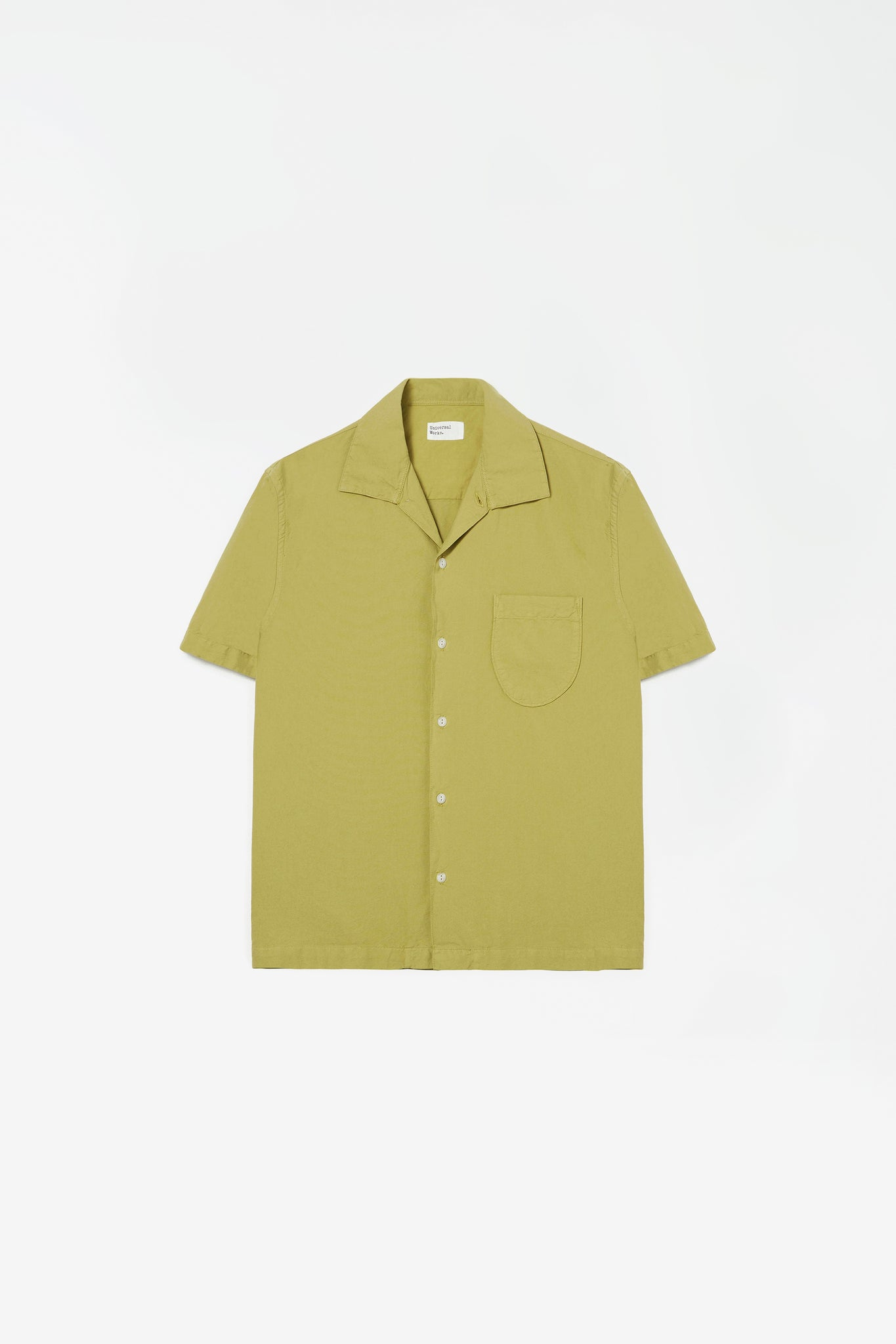Open collar shirt tea