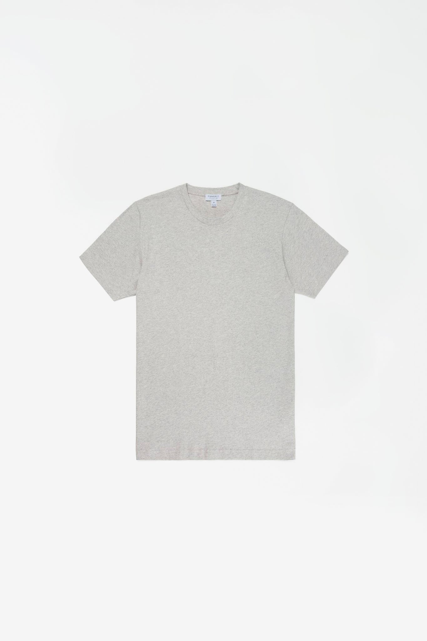 Organic cotton riviera t-shirt grey melange