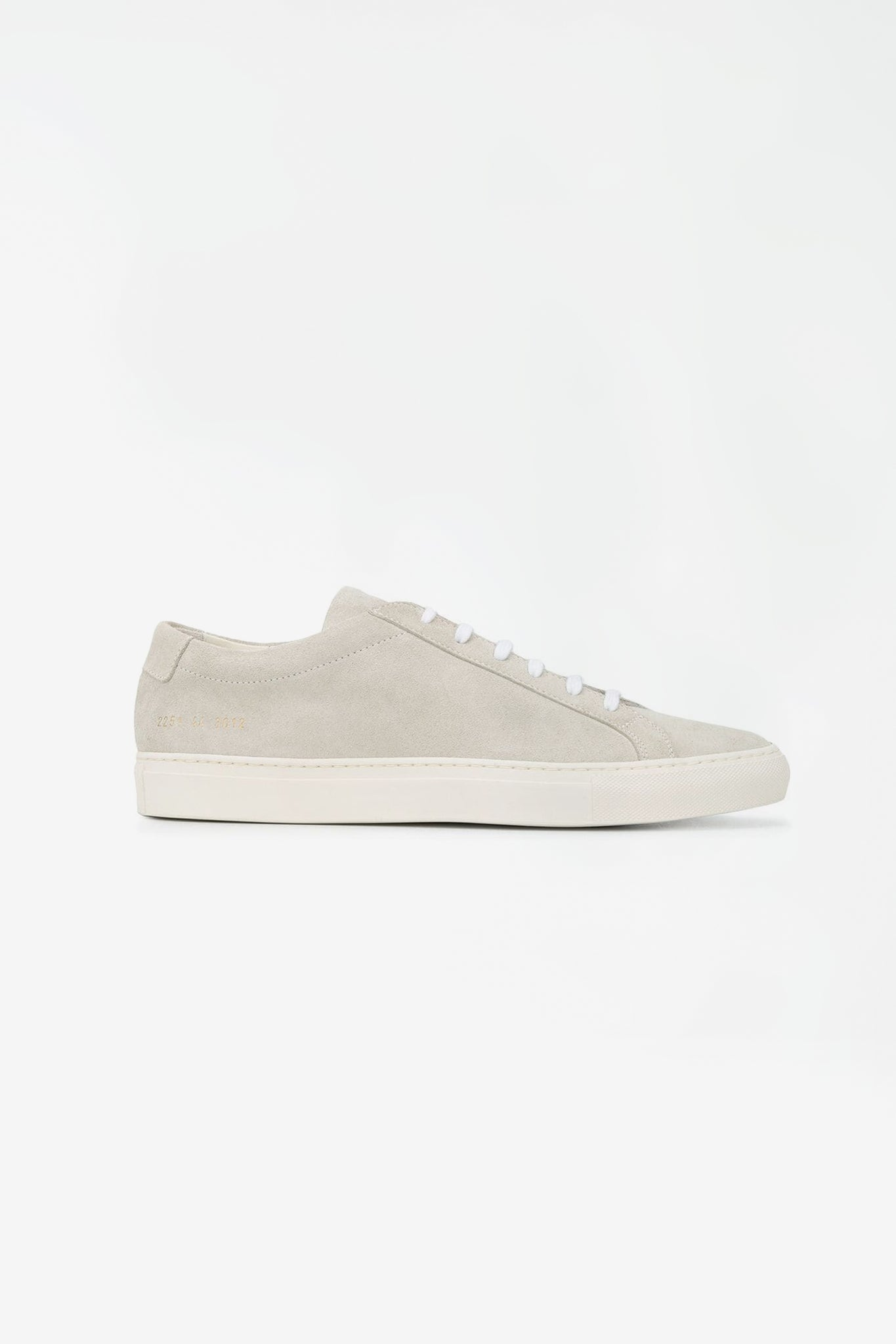 Original Achilles low suede contrast sole off white