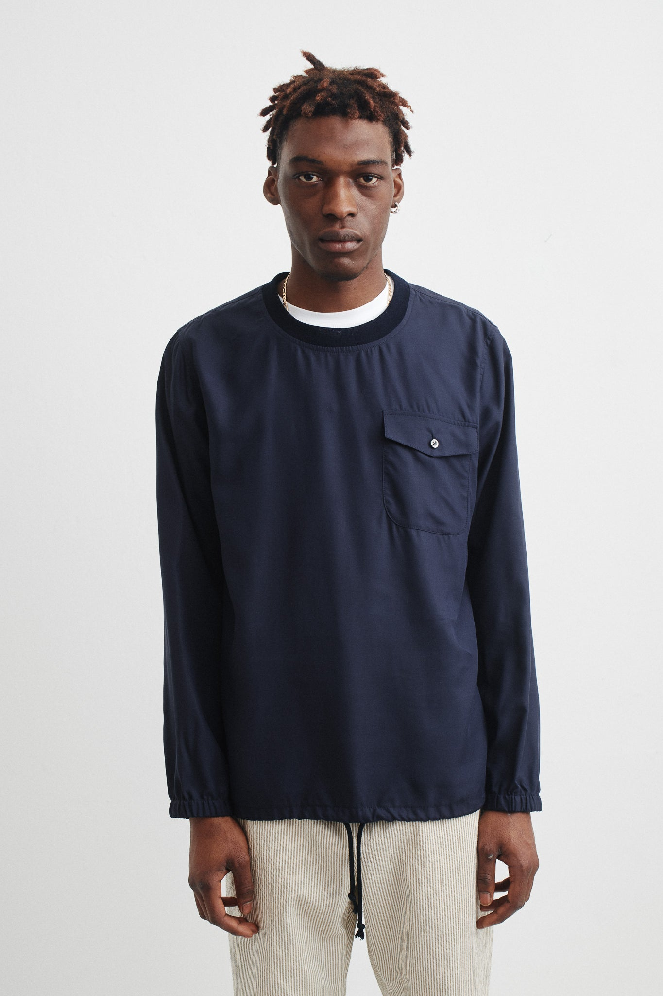 Osei shirt dark navy