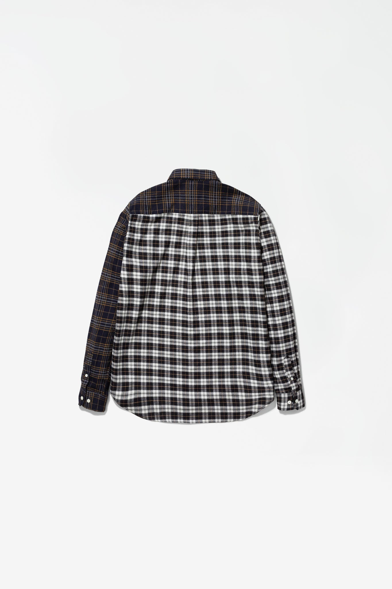 Osvald brushed flannel mix multi