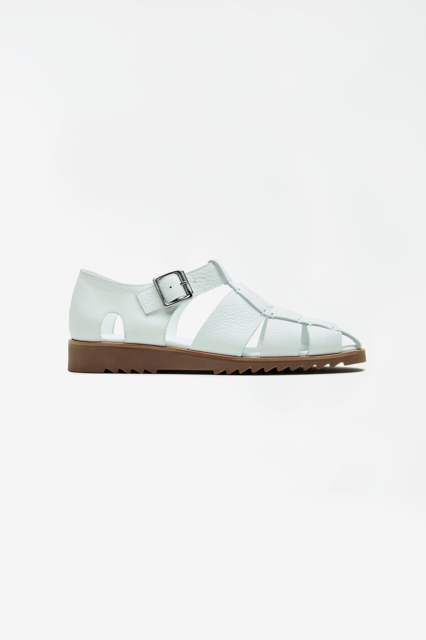 Pacific sandals white