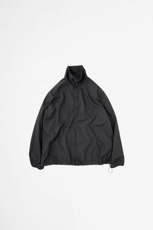 Packable anorak black