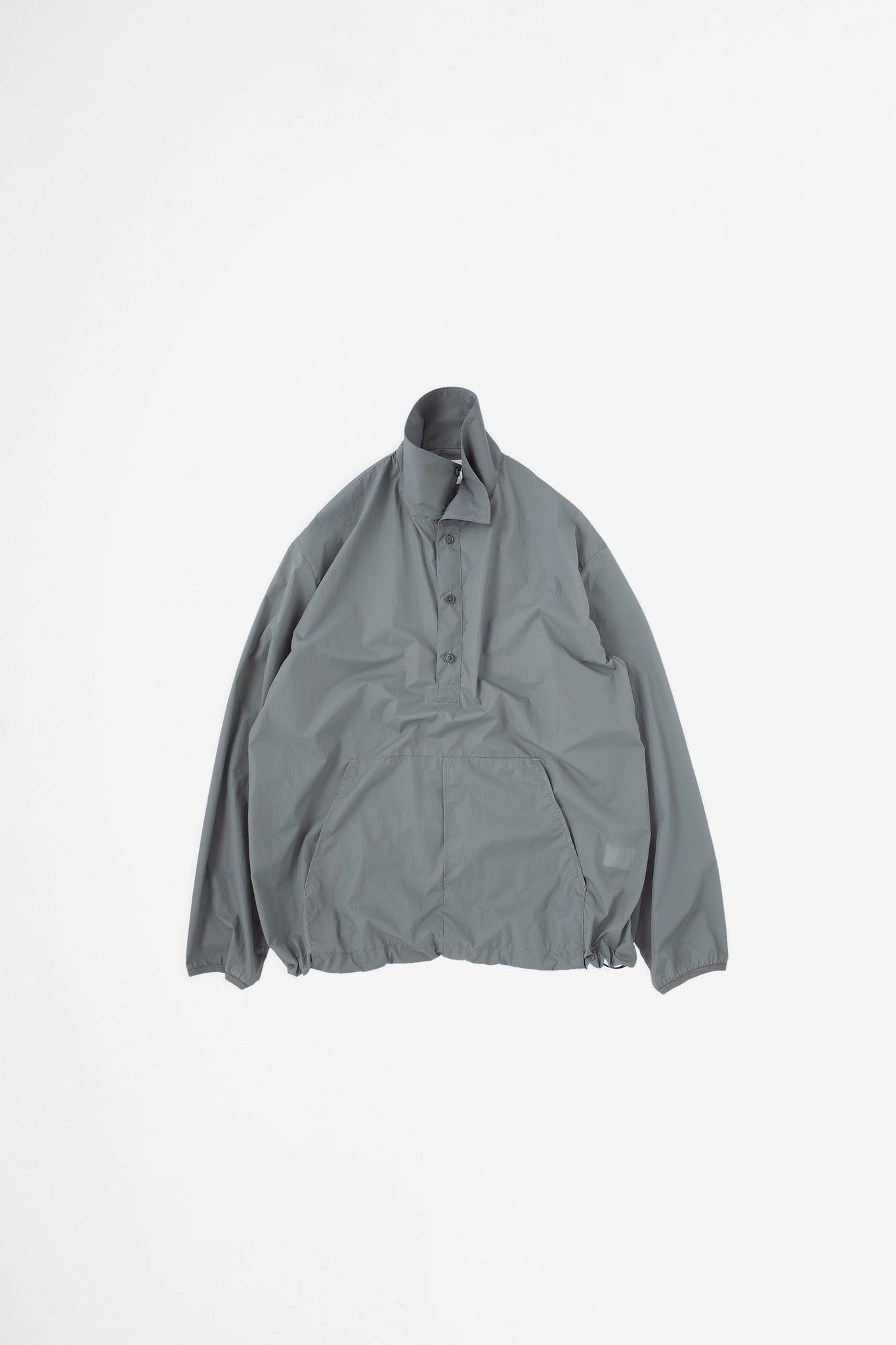 Packable anorak blue grey
