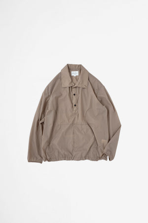 Packable anorak light brown