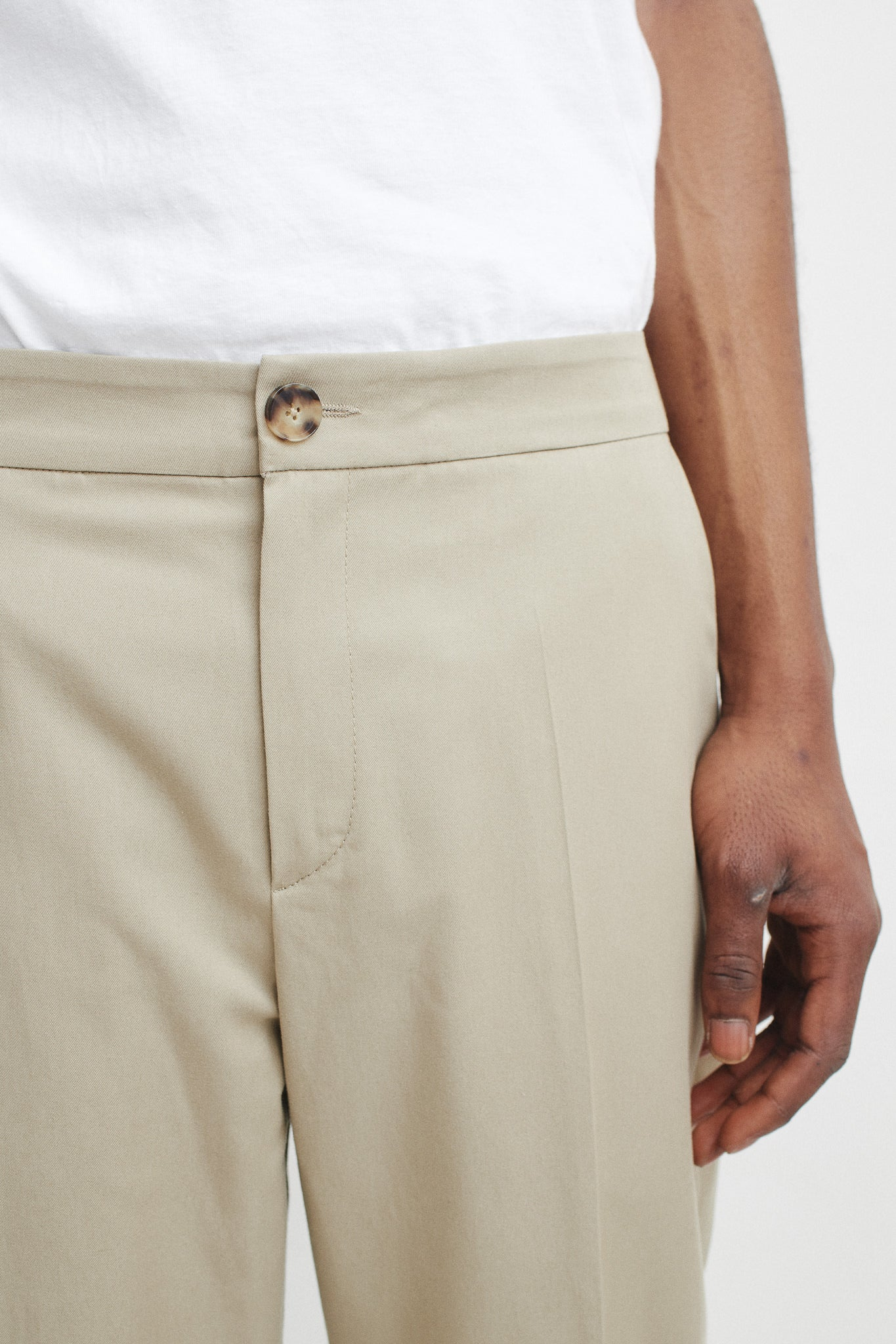 Pencil pants beige