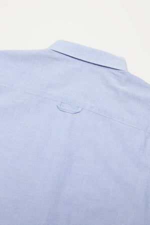 Permanents button down shirt oxford light blue