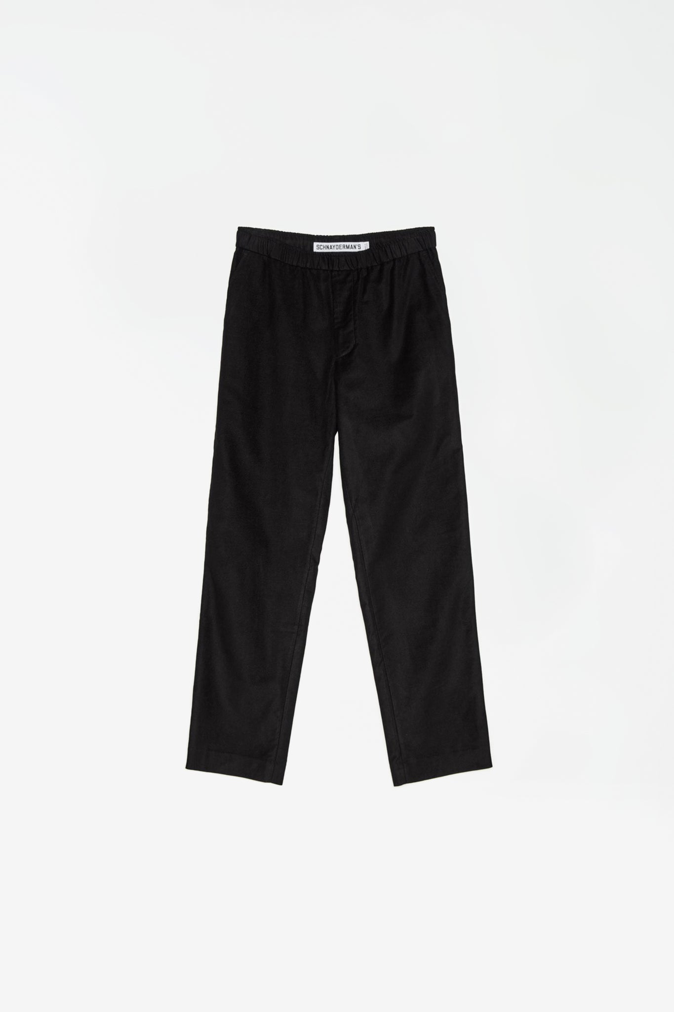 Pop pants moleskin twill black