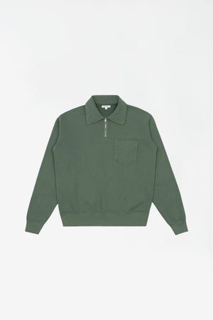 Quarter zip sweatshirt ez sage