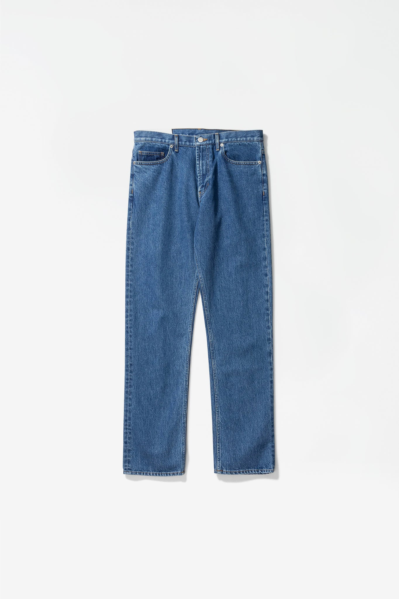 Regular denim jeans vintage indigo