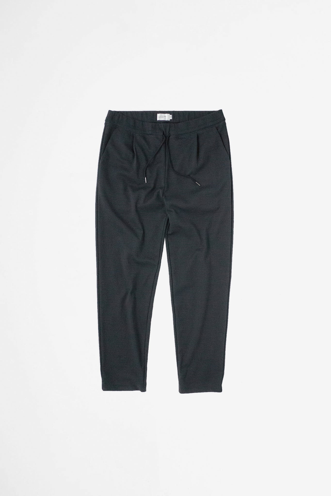 Relaxed jersey pants black