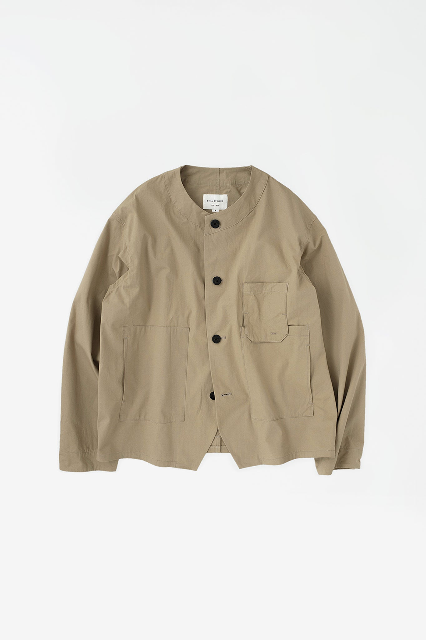 Relaxed work jacket beige