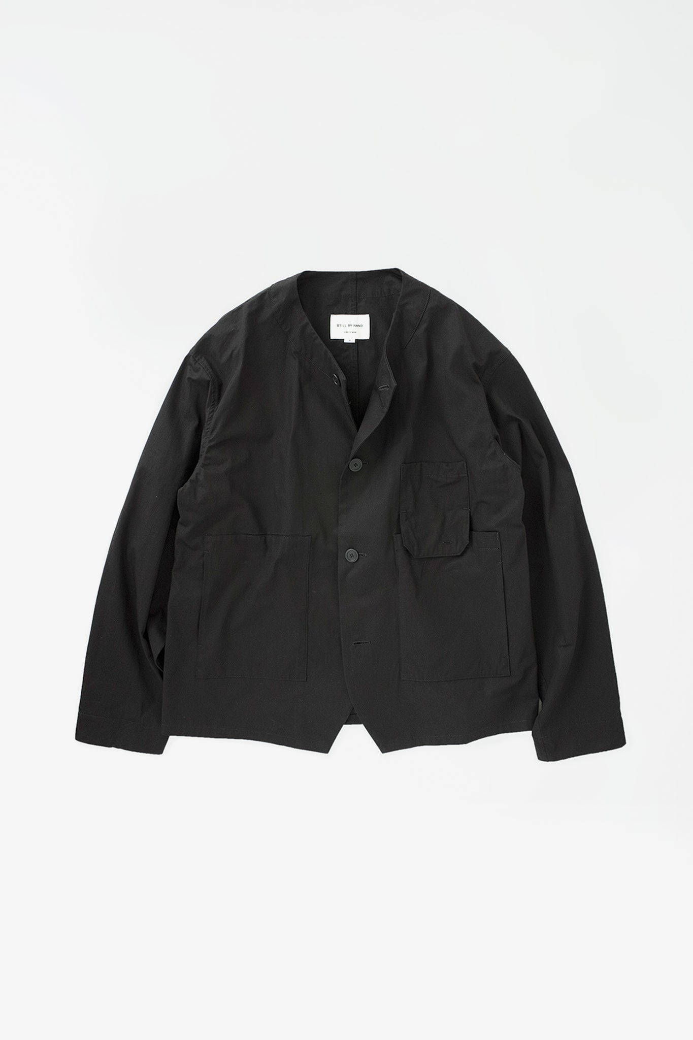 Relaxed work jacket black