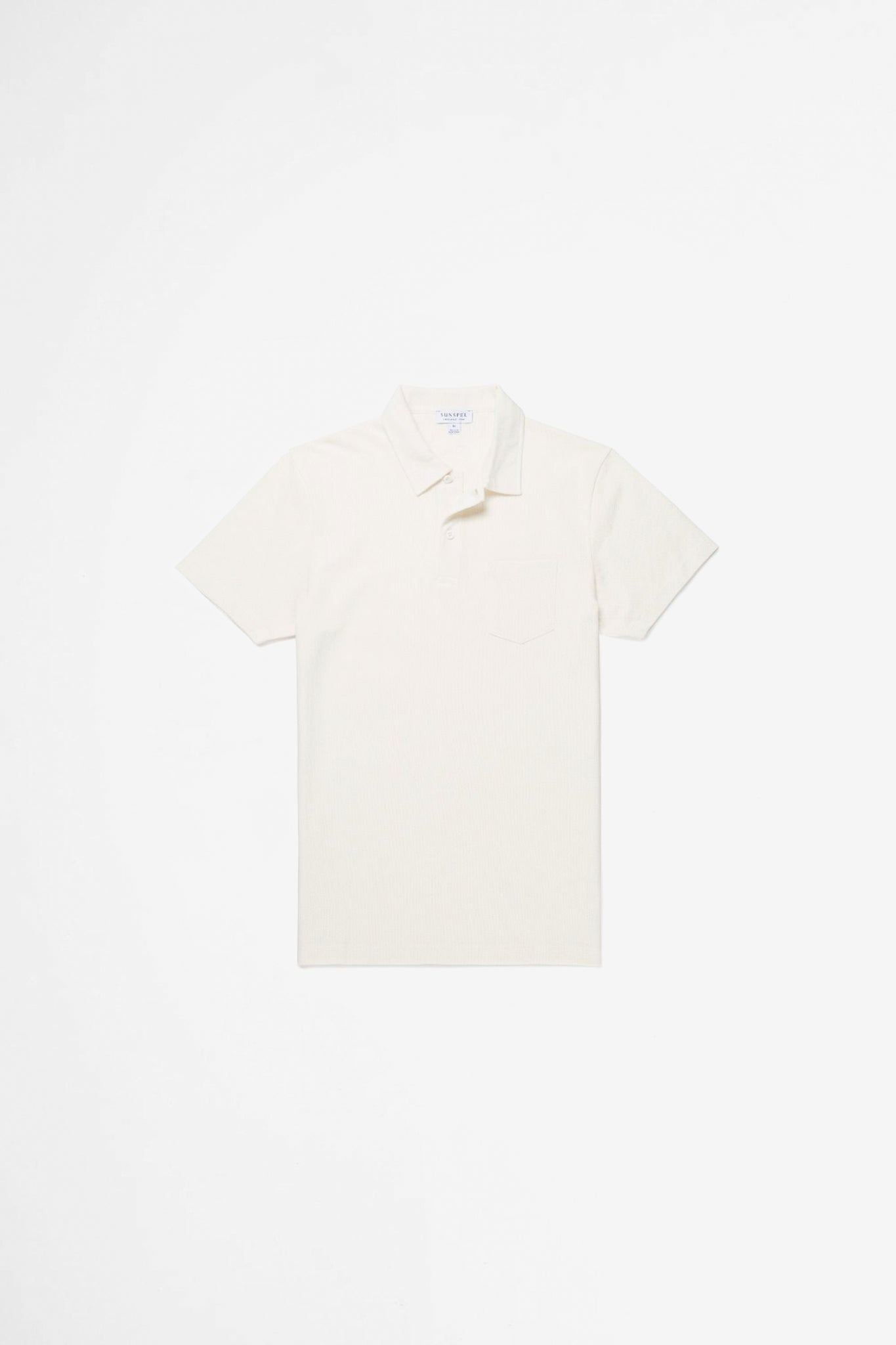 Riviera polo shirt archive white