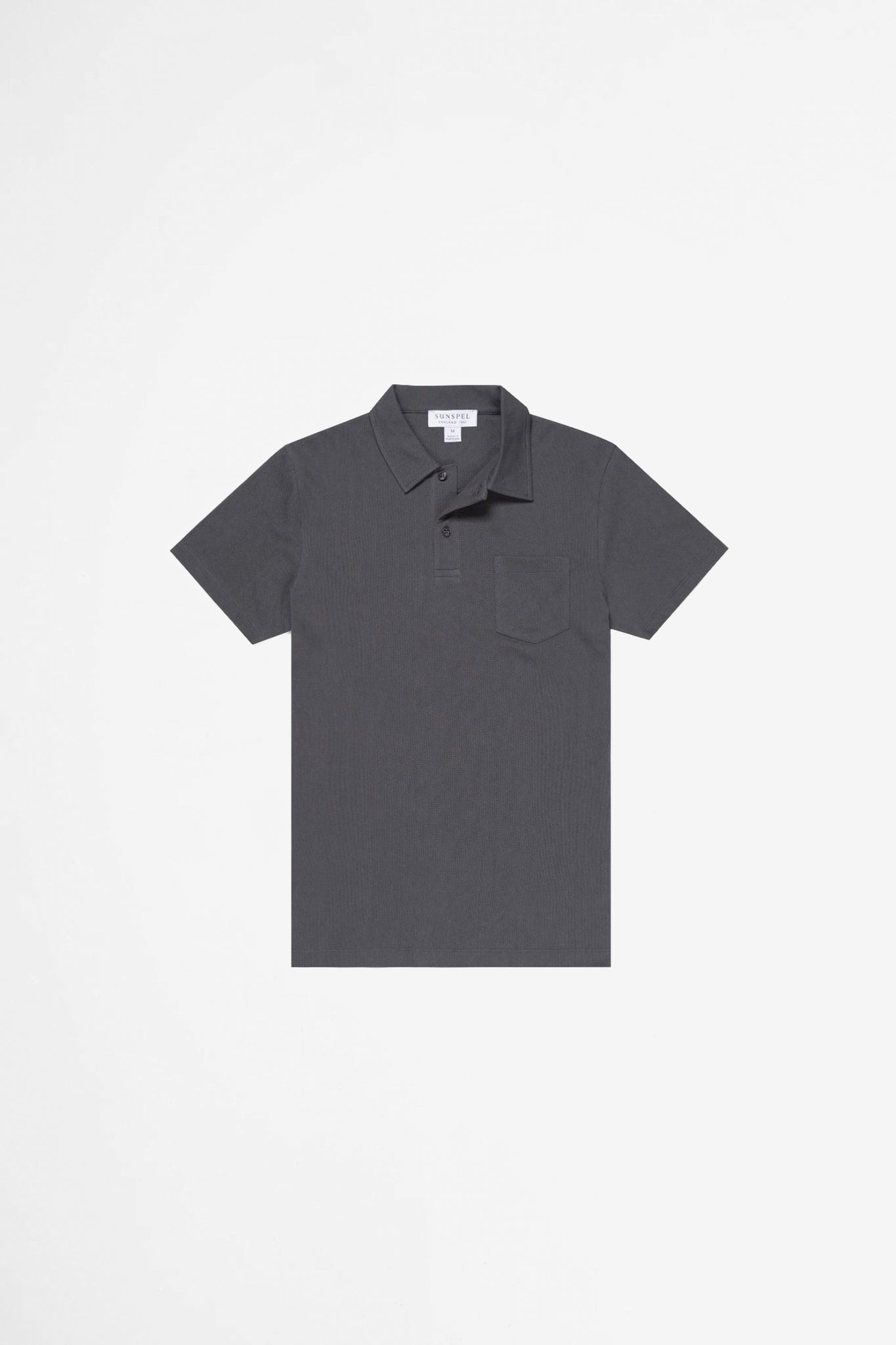 Riviera polo shirt charcoal