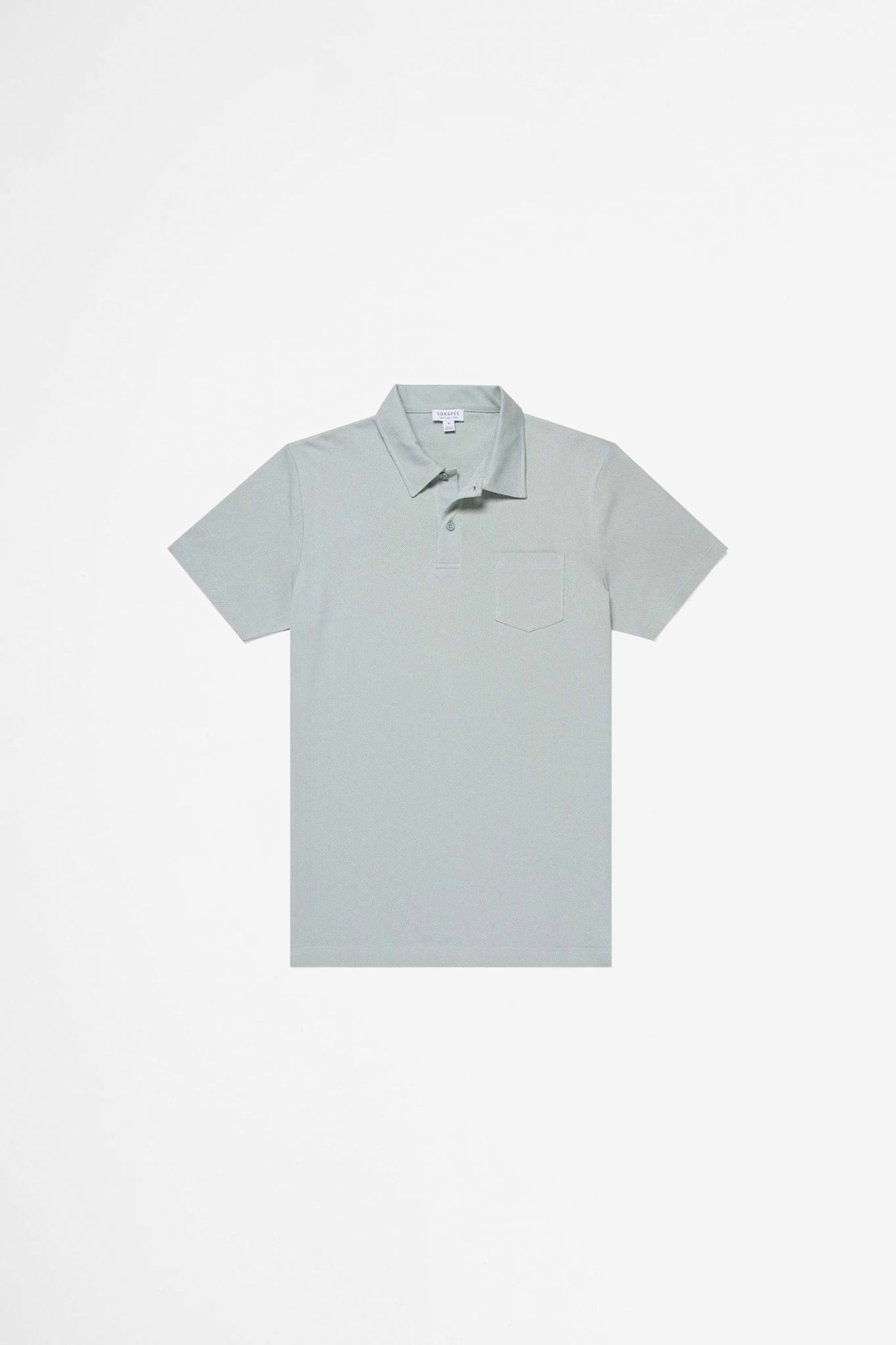 Riviera polo shirt dusky green