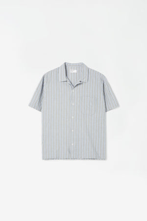 Road shirt elton2 stripe olive