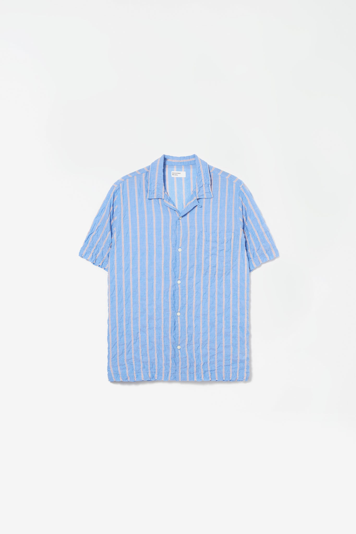 Road shirt ranch stripe pale blue