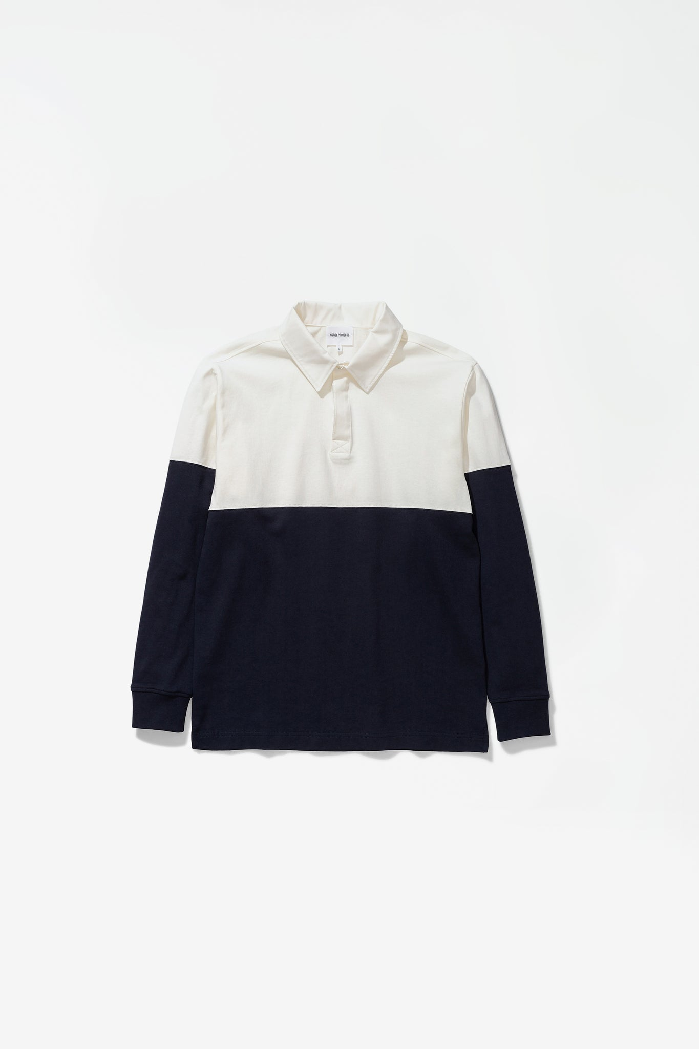 Ruben polo colour block dark navy