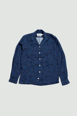 Shirt Notch print comic blue