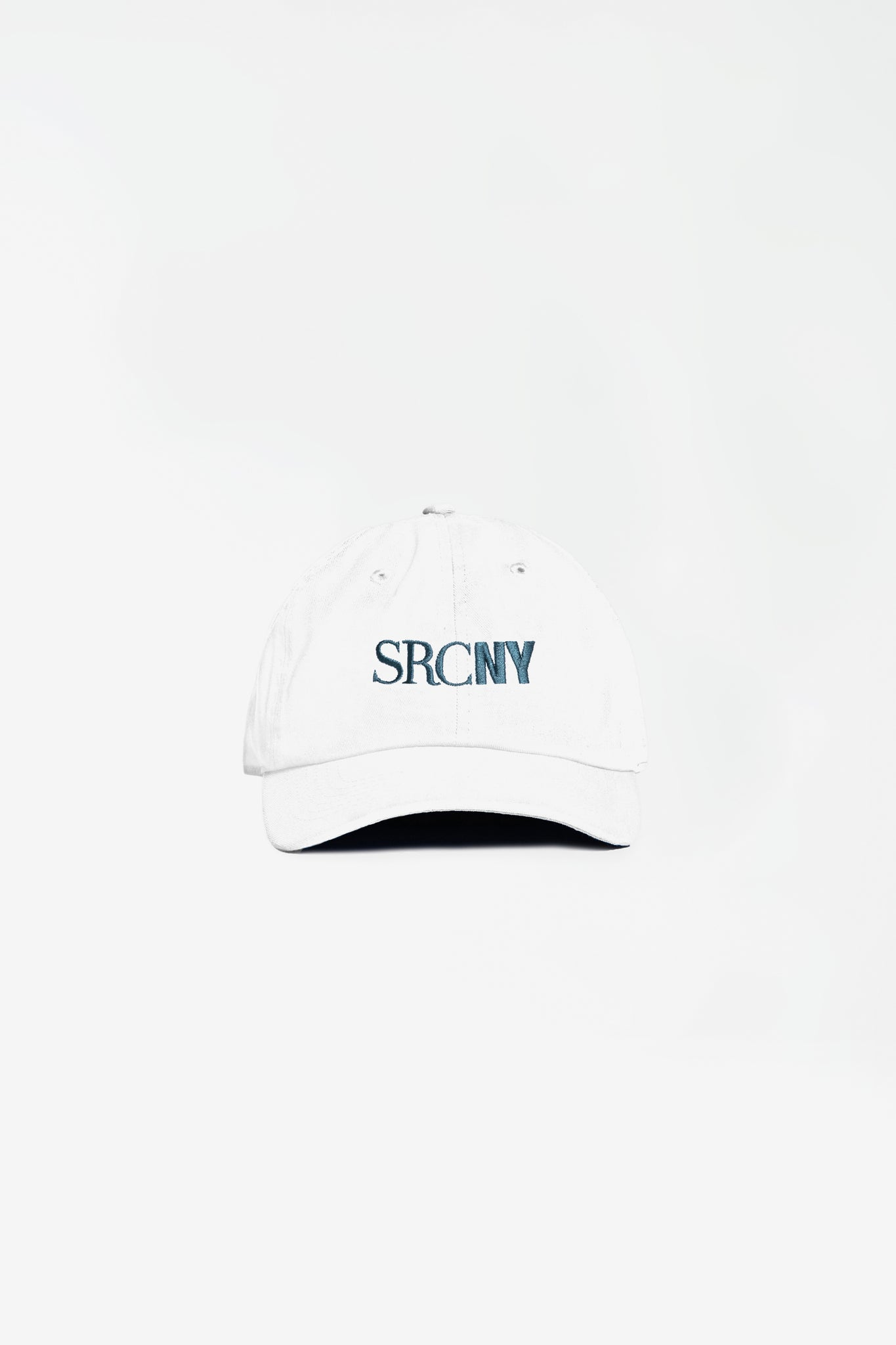SCRNY Hat white/navy embroidery