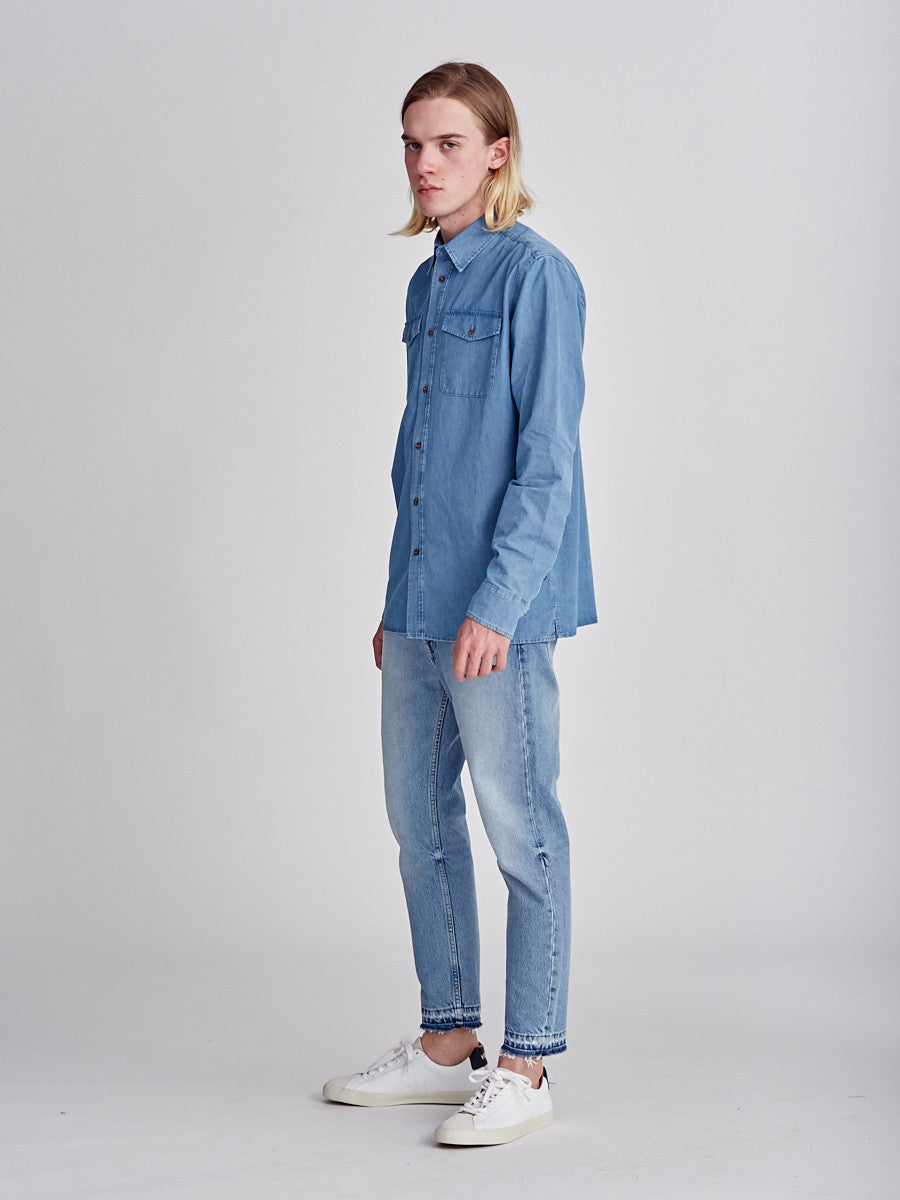 Ombra denim shirt by A Kind of Guise at Sportivo Store