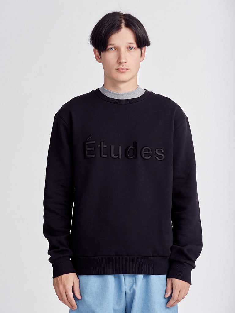 Black sweatshirt from Études Studio at Sportivo Store