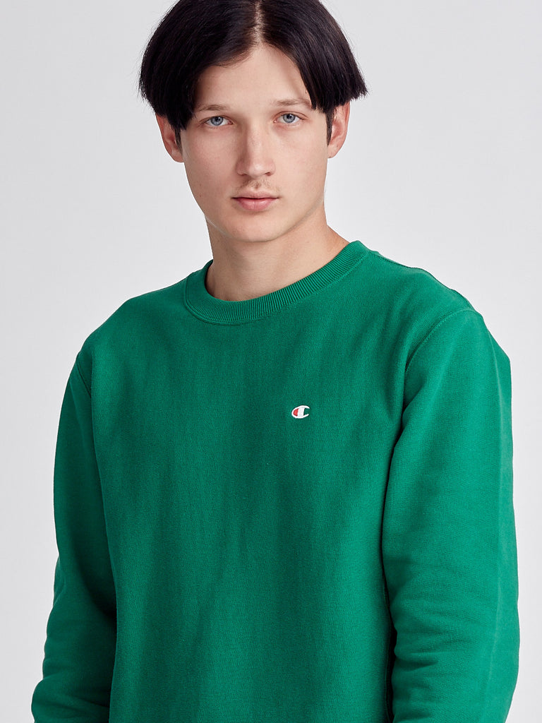 Green reverse weave sweatshirt by Champions