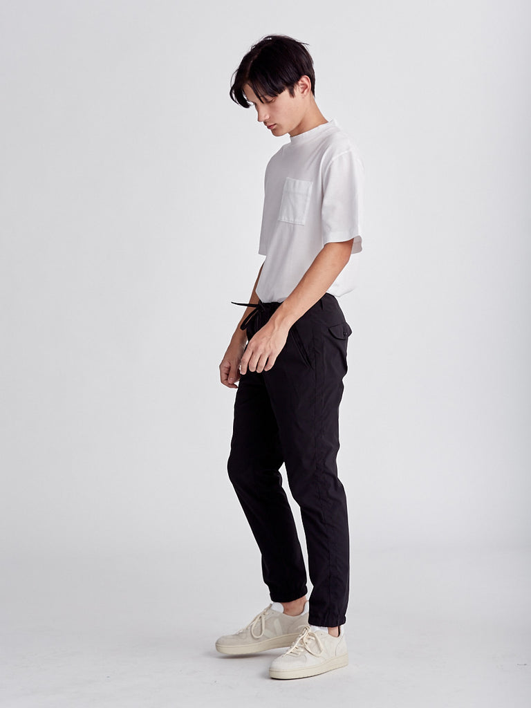 Airy Jogger Pants by Still by Hand. Black trousers