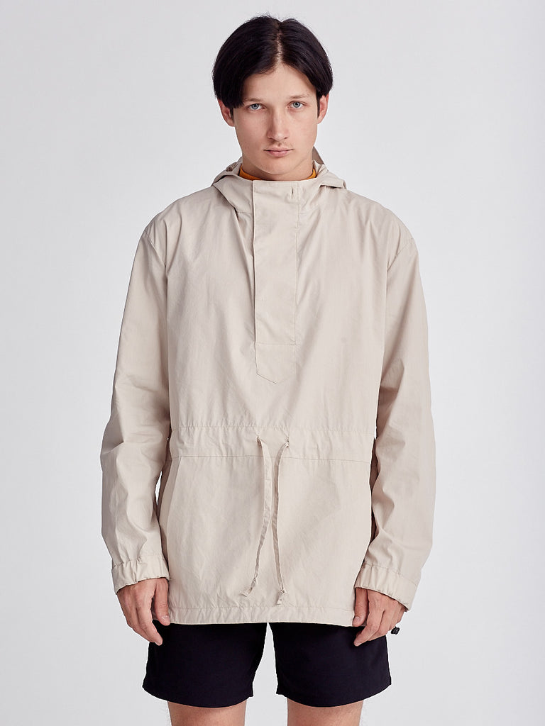 Beige Jacket from Still by Hand. Beige Wind-breaker.