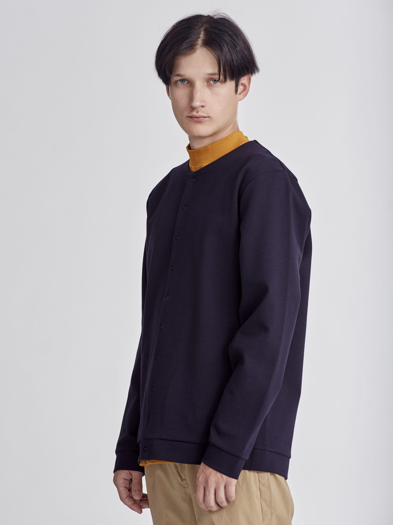 Navy Jacket made by Still by Hand at Sportivo Store