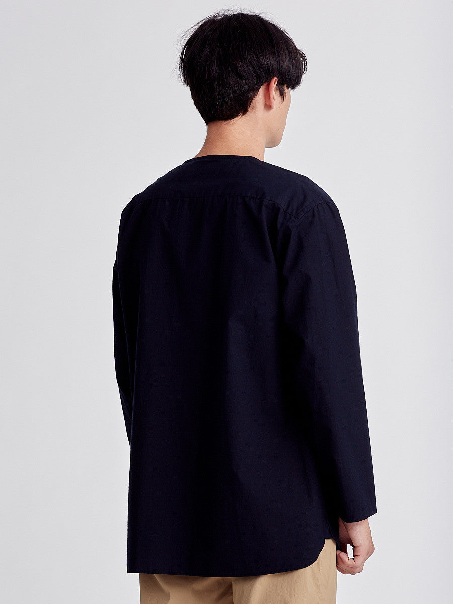 Navy shirt by Still by Hand