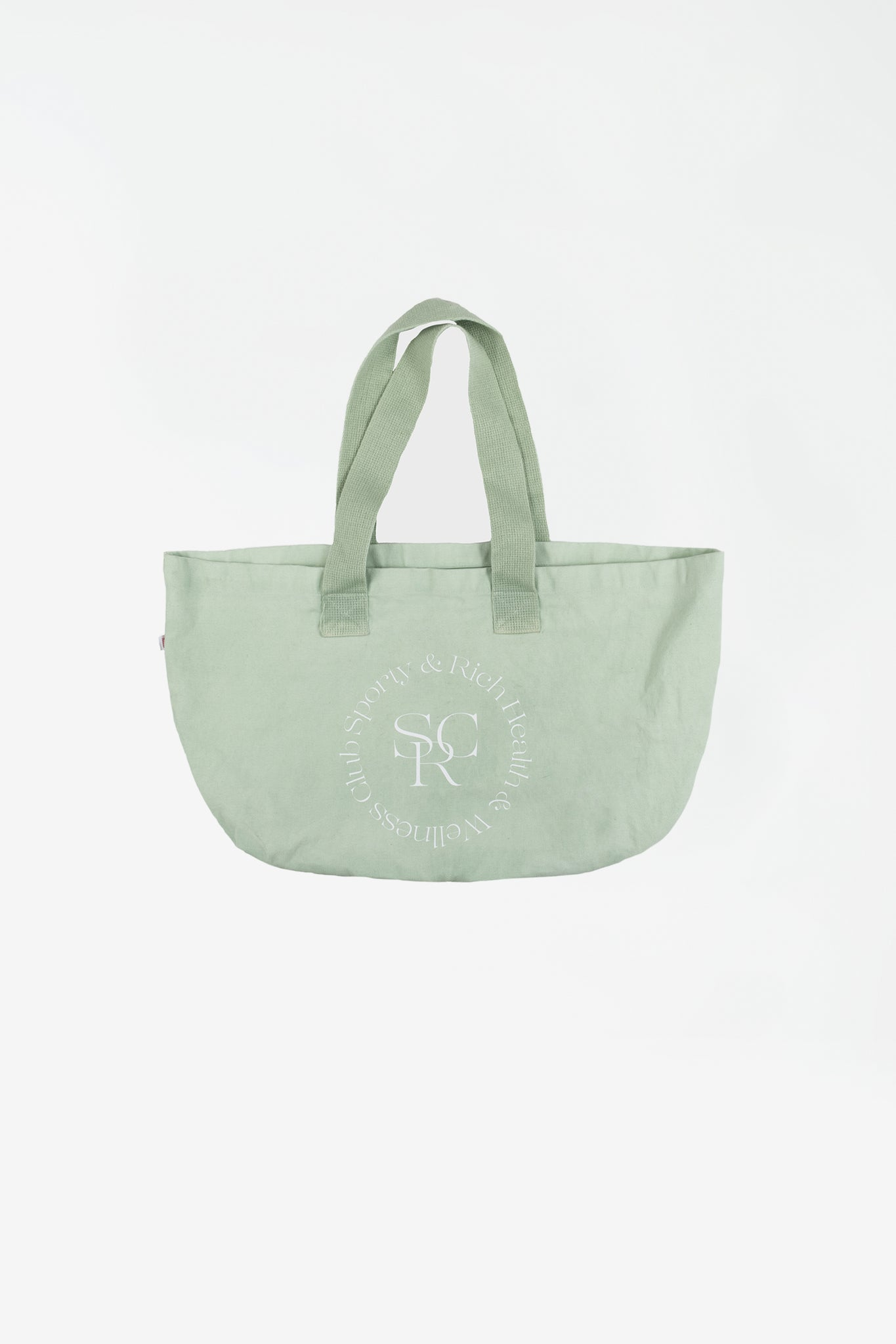 SRHWC tote bag mint cream