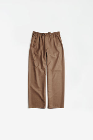 Samurai trousers caramel check