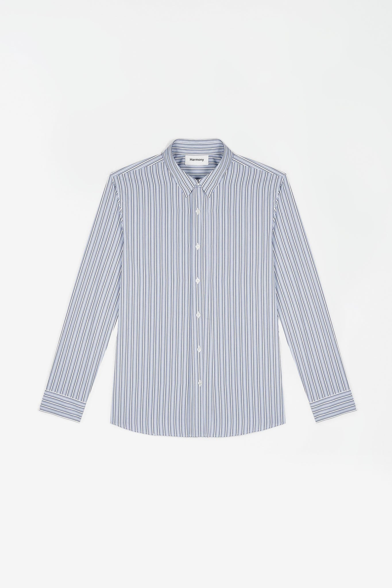 Shirt Calleb blue striped