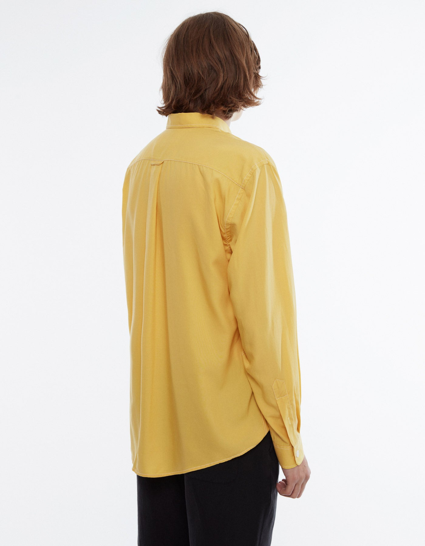 Shirt boxy yellow