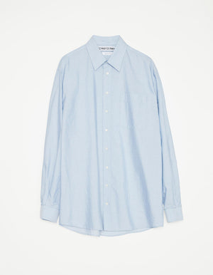 Shirt non binary mini stripe light blue