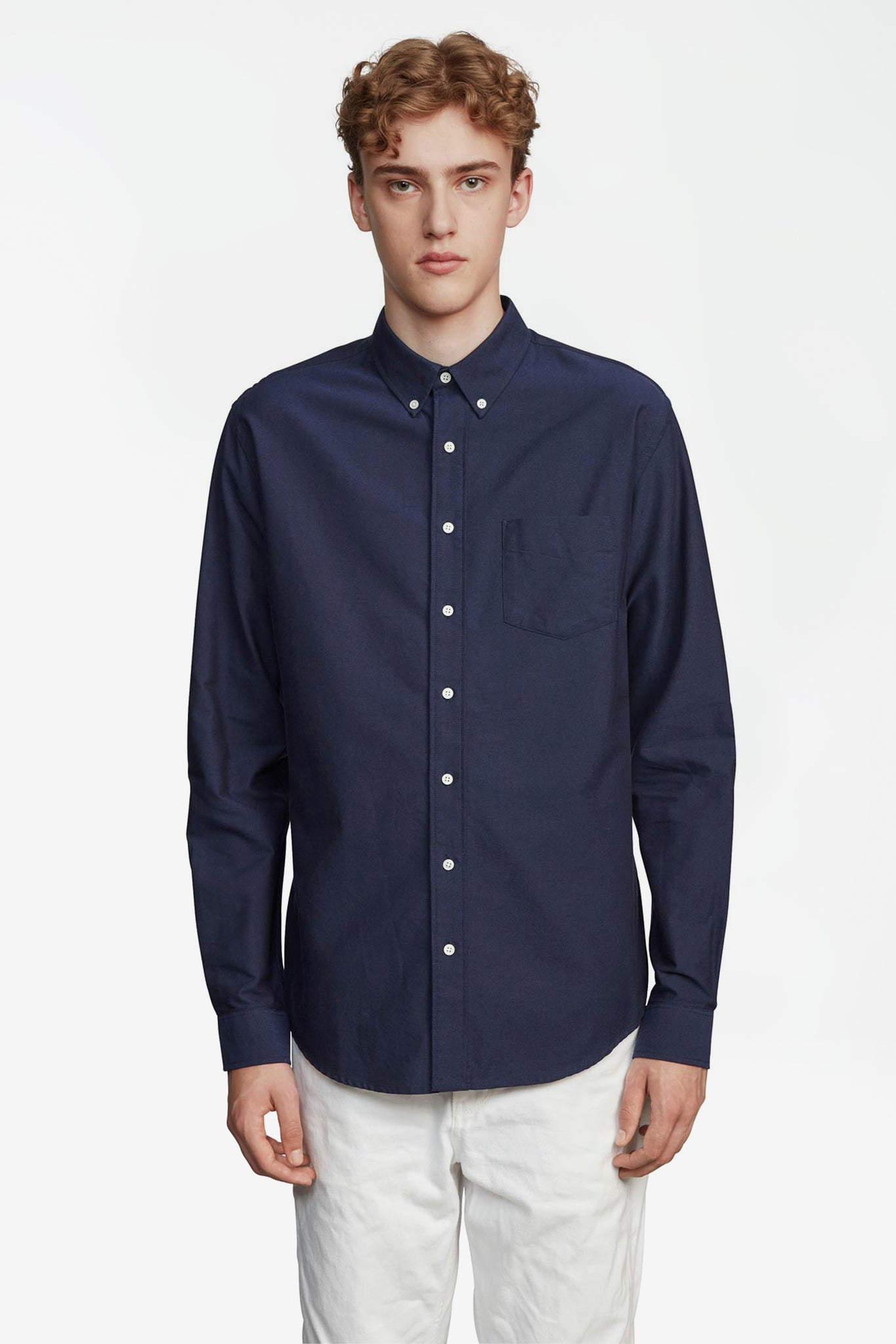 Shirt oxford one dark blue