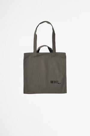 Shopper light cotton drill olive