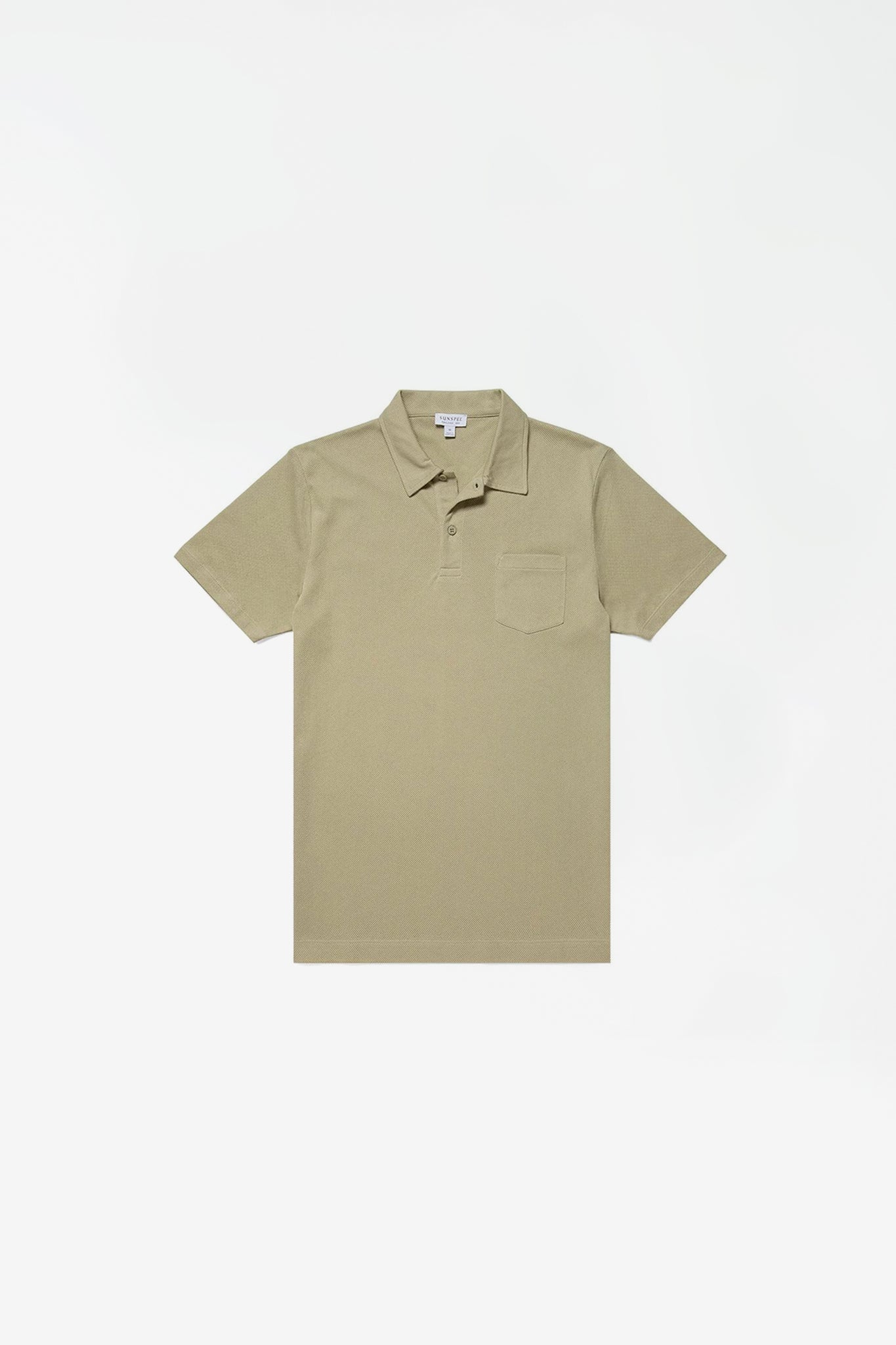 Short sleeve riviera polo pistachio