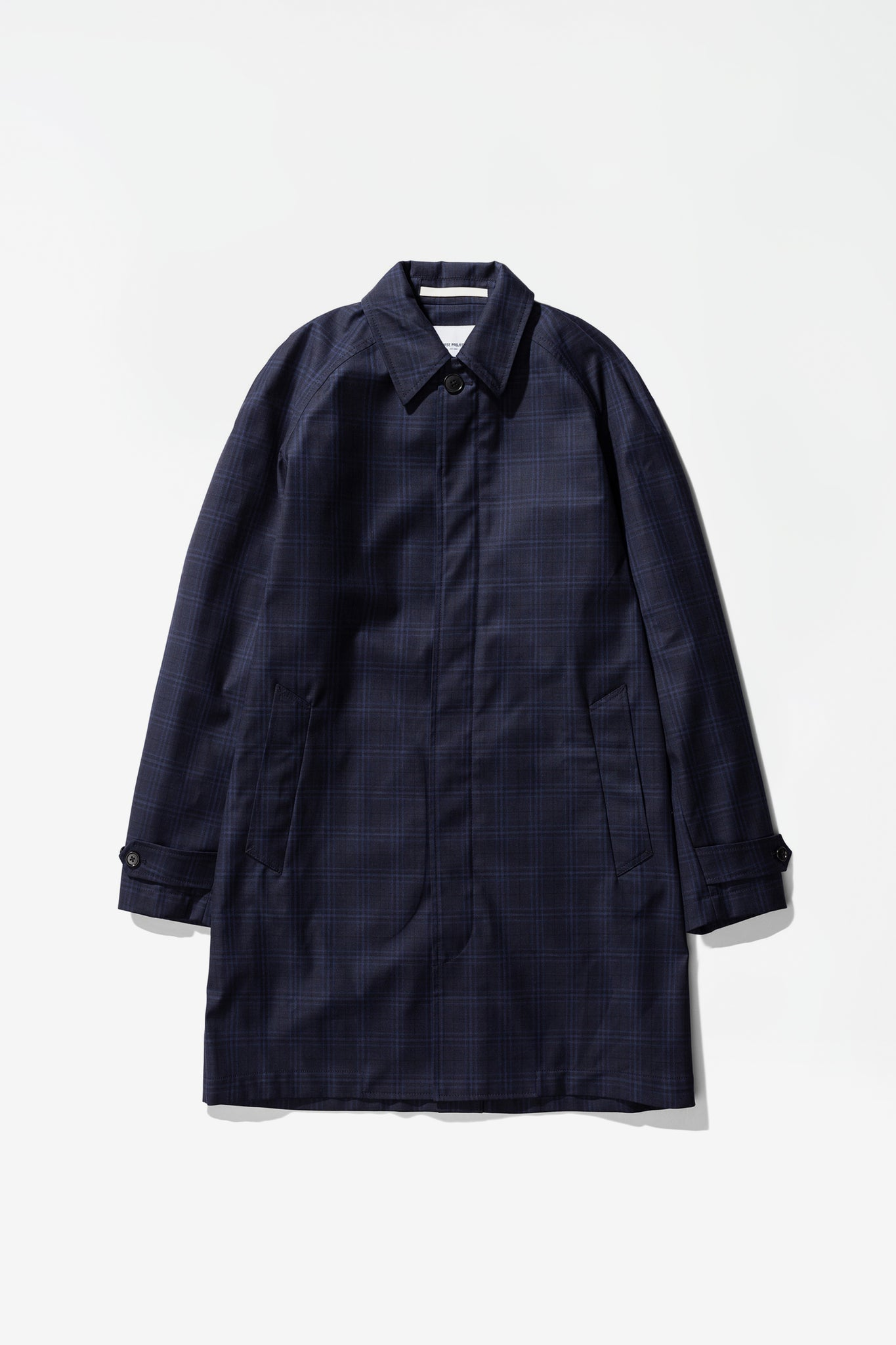 Svalbard 3 layer technical wool navy